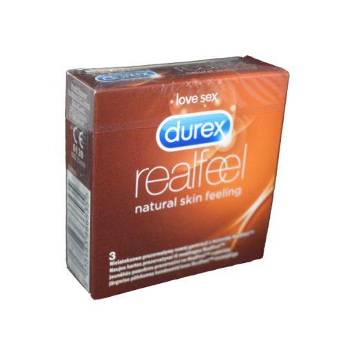 prezervative fara latex Durex Real Feel